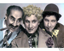 "THE MARX BROTHERS A NIGHT IN CASABLANCA 1946 8x10"" HAND COLOR TINTED PHOTOGRAPH"