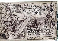CARTOLINA FAGNANO OLONA - VARESE - INIZIO SECOLO