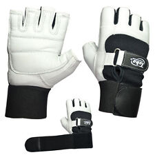 Taba Weight Lifting Gloves Gym Fitness Gloves, Long Strap Full comfort