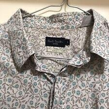Paul Smith Large L Slim Fit Organic Cotton