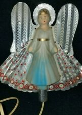 Vintage Tinfoil & Plastic Angel Light Up