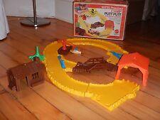 Vintage Mattel Preschool Camp Putt Putt Boat Campground Kids Toy 1973 w/ Box