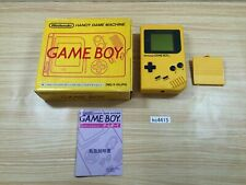 kc4415 GameBoy Bros. Yellow BOXED Game Boy Console Japan