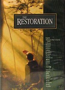 THE RESTORATION DVD - LATTER DAY SAINT JOSEPH SMITH MORMON