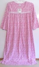 NWT ARIA LONG NIGHTGOWN-SIZE XL-3/4 SLEEVE-DARK PINK-$50-BEAUTIFUL AND SOFT