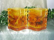 1 Deko Windlicht Afrika Krieger Tiere Tischlicht Geschenkidee Mitbringsel