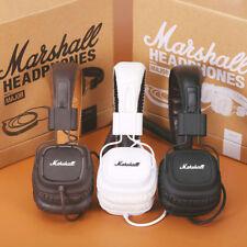 New Marshall Major Mic Remote HIFI Headphones Noise Cancelling Deep Bass