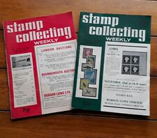 Stamp Collecting Weekly magazines June 1973 & November 1972