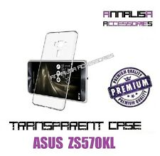 COVER TRASPARENTE ASUS ZENFONE 3 DELUXE ZS570KL CUSTODIA CASE SILICONE TPU SLIM