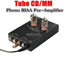 Douk Audio 6J1 Vacuum Tube Phono RIAA MM Turntable Pre-Amplifier HiFi AUX Preamp