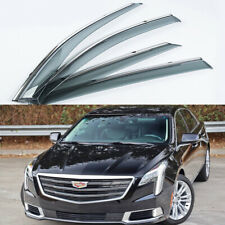 Car Door Window Vent Visor Deflector Shade Sun Rain for 2013-2019 Cadillac XTS