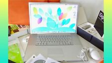 "Apple PowerBook G4 Aluminum 1.6GHz 17"" 100GB HD CD-DVD-RW 1GB RAM + Many GIFTS"