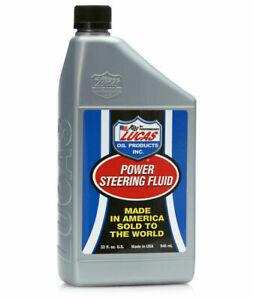 Lucas Oil 10824 Power Steering Fluid for Conditioning Seals/Prevent Leaks (1 qt)