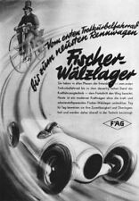 GERMANY. Fischer-Walzlager 1936 old vintage print picture