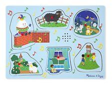 Melissa & Doug Nursery Rhymes 2 Sound Puzzle (6 Piece) 10737