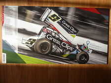 2014 Daryn Pittman 7 X 13 World Of Outlaws Driver Photo Card