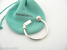 Tiffany & Co Silver Basketball Ball Key Ring Key Chain Keychain Rare Excellent