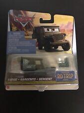 Disney Pixar Cars Sarge Road Trip (international card)