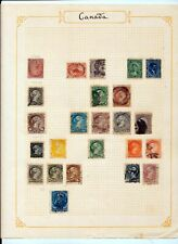 Canada Qv High Catalogued Used(24 Items) Zz191