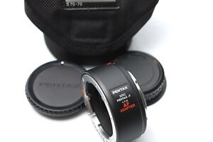 PENTAX F AF ADAPTER 1.7x Teleconverter Lens from Japan #D33