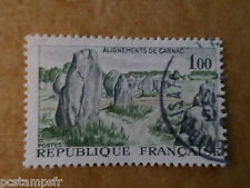 FRANCE - 1965, timbre 1440, ALIGNEMENTS DE CARNAC, oblitéré, VF used stamp