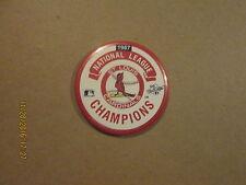 Mlb St.Louis Cardinals Vintage 1987 Nl Champions Baseball Pinback Button