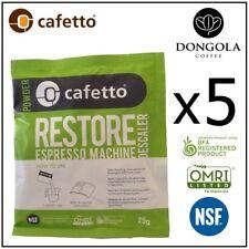 5 x Espresso Coffee Machine Descaler Breville Jura Delonghi Gaggia Saeco Krups