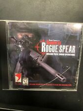 Rainbow Six Rogue Spear Mission Pack: Urban Operations Game CD-ROM