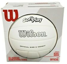 Wilson Beach Volleyball Outdoor Indoor Soft Play Ball Summer Volleyball New