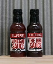 Killer Hogs The BBQ Barbecue & Vinegar Sauce 18 oz Each (2 Pack)