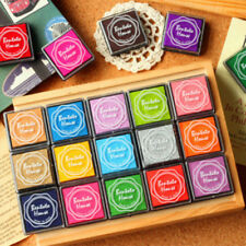 Crafts Ink Pad Stamps 20 Color for Kid's Rubber Stamp Scrapbook Card Making
