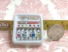 Dollhouse Miniature School/Work/Draw Painting Art Kit Set w/ Tools 1:12