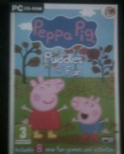 Peppa Pig Pfützen Spaß * PC CD-ROM Spiel * Spiele und Aktivitäten *