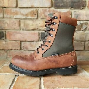 """Browning Buck Pursuit 8"""" Insulated Waterproof Hunting Boots 400 Grams Thinsulate"""