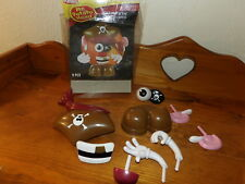 Halloween Mr Potato Head Pumpkin Push In  PIRATE Costume 9 pieces Decoration *