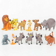 The Lion Movie Plastic Assorted Figures 12 Pcs Set Cake Topper Party Toys Gift