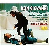 Wolfgang Amadeus Mozart Don Giovanni (1998) DGG 4377782 3CD set