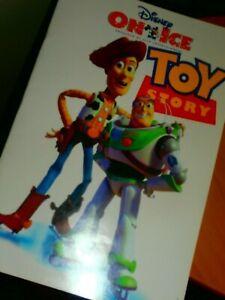 Disney on Ice JUNGLE ADVENTURES 2000 & TOY STORY 1998 SOUVENIR PROGRAM LOT