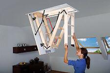 FAKRO LWK270 Wooden Folding Section Loft Ladder - 111cmx55cm