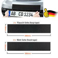 2x Kennzeichenhalter Rahmenlos Klett Kennzeichenhalterung Für EU Nummernschilder