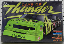 DAYS THUNDER OF CITY CHEVY LUMINA 46 MOVIE NASCAR COLE MAC GM MONOGRAM MODEL KIT
