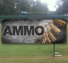 Ammo Advertising Vinyl Banner Flag Sign Many Sizes Available Usa