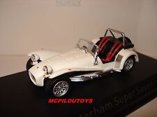 NOREV CATERHAM SUPER SEVEN OLD ENGLISH WHITE 1979 au 1/43°