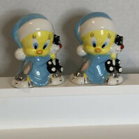 TWEETY BIRD AND SYLVESTER Salt and Pepper Shakers, Vintage Collectible