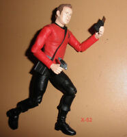 STAR TREK Deep Space Nine DS9 chief O'BRIEN art asylum FIGURE toy RED tribbles