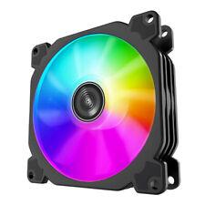 90mm ARGB PWM Fan Computer Case CPU Cooling Cooler Quiet Sync LED AURA 2300 RPM