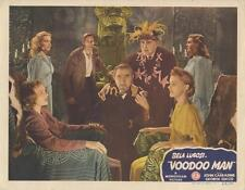 """VOODOO MAN""-ORIGINAL LOBBY CARD-HORROR-LUGOSI-CARRADINE-ZUCCO-SEANCE-BEST CARD"