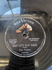 ELVIS PRESLEY 78 BABY LET'S PLAY HOUSE / I'M LEFT 20-6383 Victor Hear