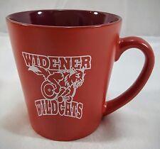 WIDENER WILDCATS COFFEE MUG WHEEL CHAIR WHEELCHAIR BASKETBALL COLLEGE ATHLETICS