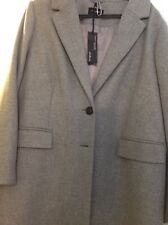 Autograph Coat 22 Italian Fabric Wool Rich With Cashmere